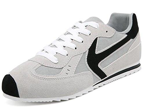 Men's Comfortable Non Slip Skateboarding Shoes Grey