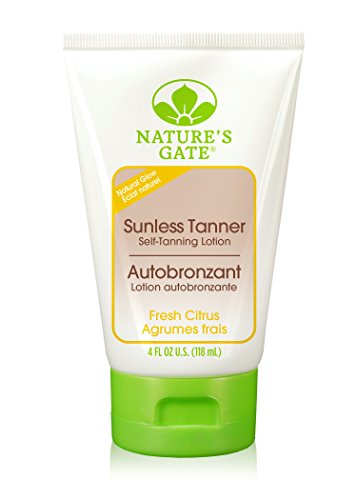 Nature's Gate Sunless Tanner, 4-Ounce Tubes (Pack of 2) by Nature's Gate (Tube Gate)