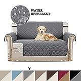 BellaHills Sofa Covers 2 Seater Slipcover Protector Sofa Throw, Premium Reversible Loveseat Slipcover, 2\