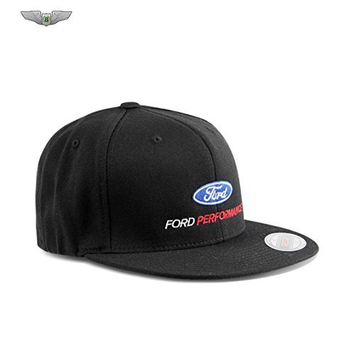 Ford Lifestyle Collection New Original Ford Performance schwarz Flexfit Baseball Cap Hat 35021655