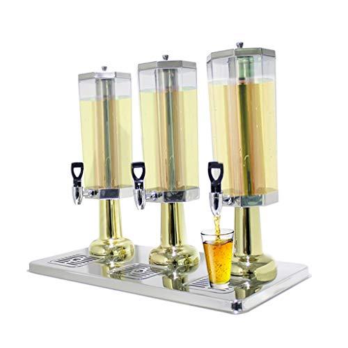MMM@ Saftpresse Hotel Buffet Kleine Kapazität Tea Shop warmes und kaltes Getränk Maschine Getränkespender Reines Kupfer Wasserhahn sichere und gesunde Edelstahlfuß Stable