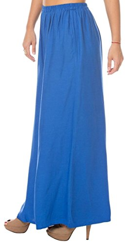 Ayesha Creations Rayon Flared Afghani Palazzo Pants for Women (Blue, XXXXX-Large, Plus...