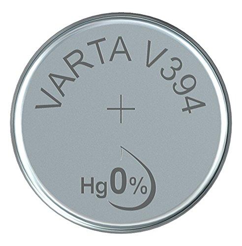 Varta 14501394 silberoxid Knopfzelle (V394, 1er Pack) silber