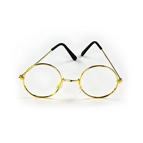 Oma Verkleiden Kostüm - Oblique Unique Brille Rund Oma Opa ohne Gläser Verkleiden Weihnachtsmann Nikolaus