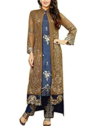 MF EMBROID 2 UNSTITCHED DRESS MATERIAL SALWAR (67014_FreeSize_MultiColoured)