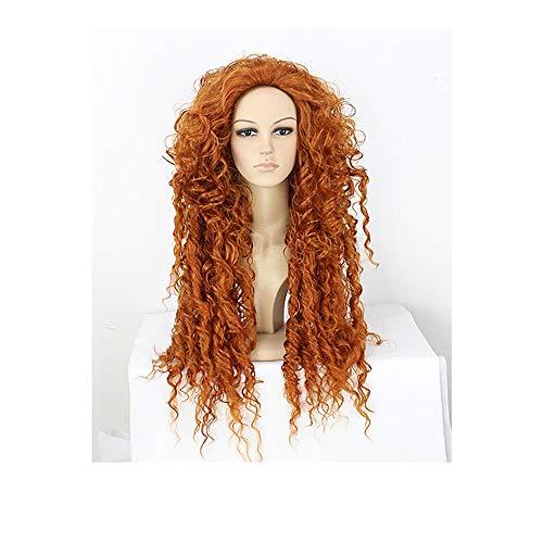 Perücken Langes lockiges Haar Kurzes lockiges Haar Langes glattes Haar Kurzes glattes Haar Geeignet für alle Arten von Partys Geeignet für Halloween-Rollenspielperücken ()
