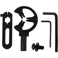 FHJZXDGHNXFGH Práctico Tiro con Arco Compuesto Arco Tiro con Arco Flecha Resto Redondo Bigote Biscuit Reemplazo Cepillo Caza Accesorios