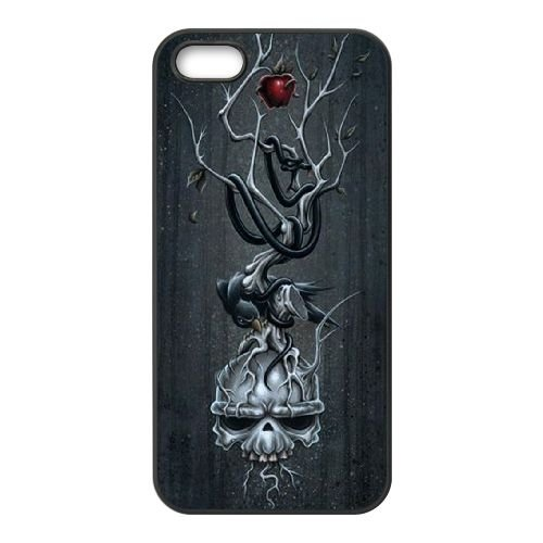 Darksiders coque iPhone 4 4S Housse téléphone Noir de couverture de cas coque EBDXJKNBO14898