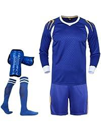 464a06944e2c6 LQZQSP Winter Soccer Camiseta Y Pantalones Cortos Fútbol Traje De  Entrenamiento Uniformes De Fútbol Chándal