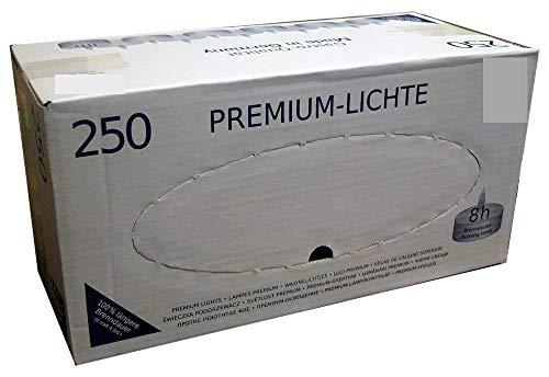 250 St. Teelichte , 8 Std. Brenndauer, Ø 38 mm,