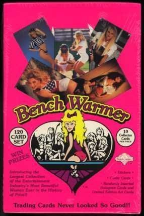 1992 Benchwarmer Trading Cards Box of 36 Unopened Packs