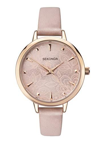Sekonda Watches Orologio Analogico Quarzo Donna con Cinturino in PU 2666.27