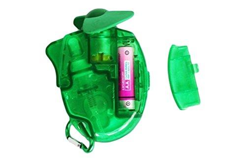 Monbedos Summer Mini Ventilador portátil de Mano con batería Ventilador de Agua 3 Colores, Verde...