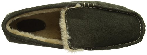 Ruby and Ed Suede, Chaussons homme Vert - Vert - Olive
