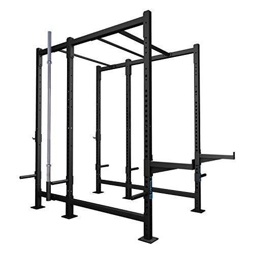 CAPITAL SPORTS Dominate Edition Set 10 Basis-Rack Power-Rack Power-Cage Cross Trainings-Box mit Klimmzugstangen, 2x Safety Spotter (1x Paar J-Cups, Gewichtsscheiben-Halterungen, Hantelhalterung)