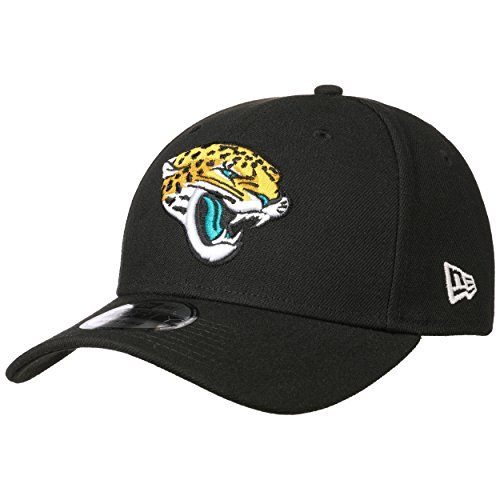 New Era Gebogene Visier NFL Jacksonville Jaguars The League 9Forty Schwarz / Gold / Weiß Einstellbar Baseball Kappes 55 - 61cm Größe Einstellbar