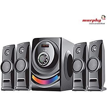 murphy 4600 4.1 Channel Digital Bluetooth Home Theater & Home Cinema Multimedia Speaker System (Bluetooth,FM,MP3 AUX)