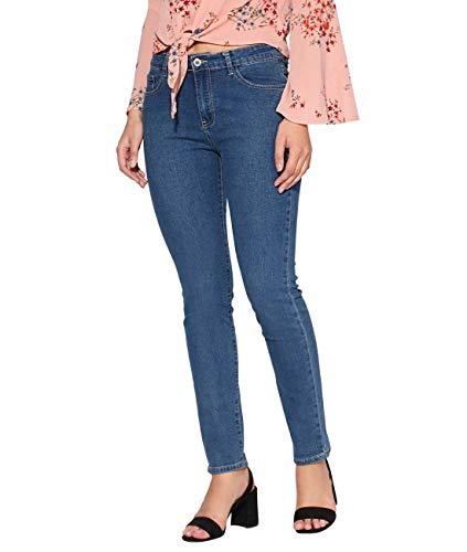 KRISP Damen Denim Hose Jeans Slim Fit