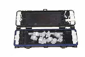 Trousse de jonction étanche pour câble de données/téléphonique avec 10 joints à base de gel 3 m