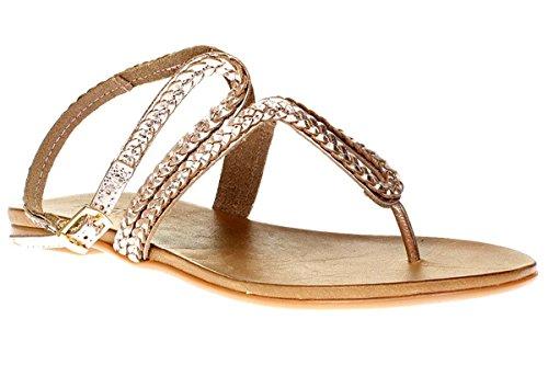 Inuovo 6196 - Sandali Da Donna Pantofole Infradito - Donna, lucido blush, EU 37