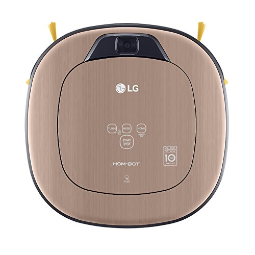 LG Electronics VRD 830 MGPCM Total Care Roboter-Staubsauger (Raumerkennung durch Dual-Kamera System,...