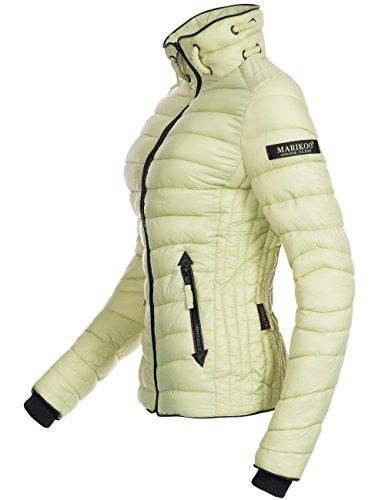 Marikoo Lola, veste matelassée pour dame mi-saison Vert