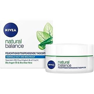 Nivea – Visage pure and natural, antiarrugas facial, 50ml