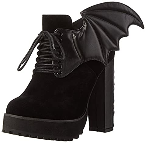 Iron Fist Women's Night Stalker Cleated Ankle Boots, Black (Black),