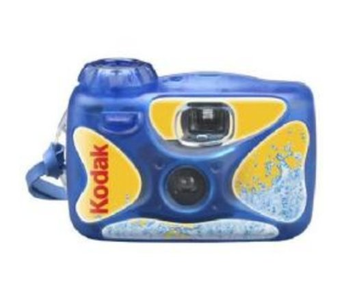 einwegunterwasserkamera Kodak Sport wasserdichte Einwegkamera ISO 800 (27 Bilder)