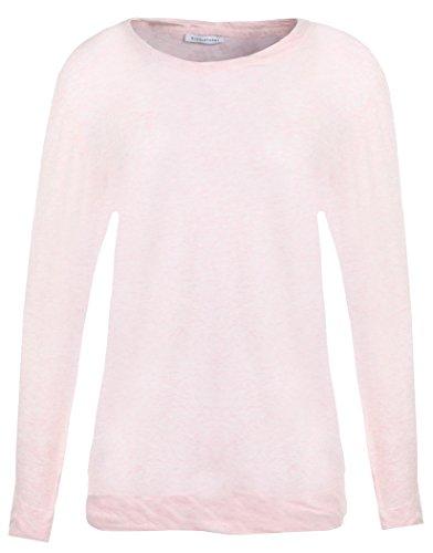 Womens Nicole Farhi cotone maglione Twist-Kiss Pink X-Small
