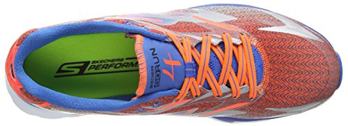 SkechersGo Run 4 - Scarpe Running da Uomo Blu (Blu (Blue/Orange))