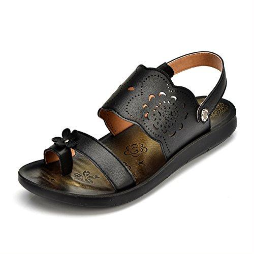 Sandales d'été/ Lady Sandals/Feuillet plat coupe MAMAN shoes A