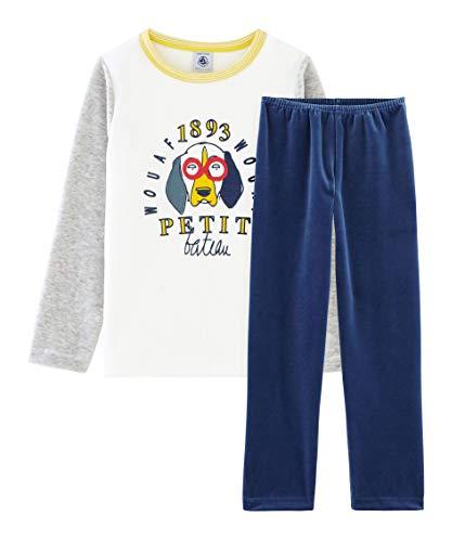 Petit Bateau 4988701 Ensemble De Pyjama, Multicolore (Medieval/Poussiere/Multico 01), 152 (Taille Fabricant: 12ans/152centimeters) Garçon