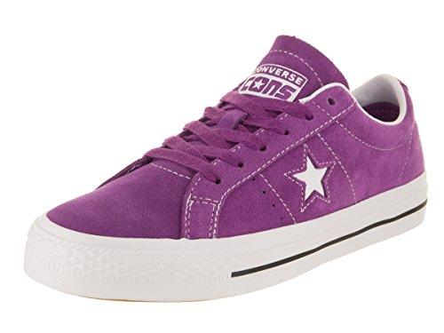 Converse Unisex-Erwachsene Skate One Star Pro Ox Sneakers, Mehrfarbig (Icon Violet/White/White 556), 40 EU (Converse Schuhe Star One Skate)
