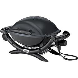 Weber 52020053 Q 1400 Barbecue Electrique Gris Foncé