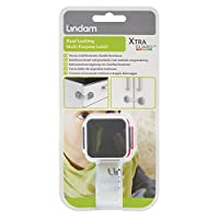 Lindam Cupboard Lock Baby Proofing Guard Latch with Dual Function - (Pack of 2)