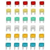 SODIAL(R) Set 30 Mini fusible enchufable para Coche Moto Automovil