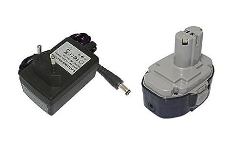 PowerSmart 18V 2000mAh Li-ion Battery for Makita 8443DWFE, JR180DWBE, JR180DWD, LS711D, LS711DWBEK, LS800DWB, LS711DZ, 6347DWDE, LS800DWD, LS800DZ, 5036DB, 5036DWFE, 6347D
