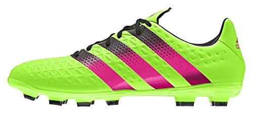 adidas Ace 16.3 Hg, Scarpe da Calcio Uomo, Verde Verde / rosa / nero (Versol / Rosimp / Negbas)