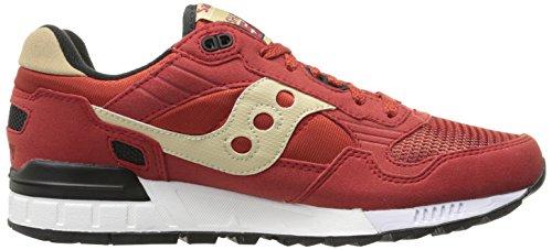 5000 Rouge Shadow Originals De Saucony Chaussures Sport AfUq7wE