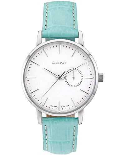 GANT Time–Reloj de Pulsera analógico para Mujer Quartz Piel 5Bar w109213