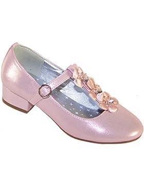 Junge Mädchen rosa besonderen Anlass und Hochzeit Schuhe