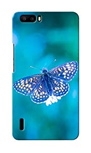 CimaCase Butterfly Designer 3D Printed Case Cover For Huwaei Honor 6 Plus