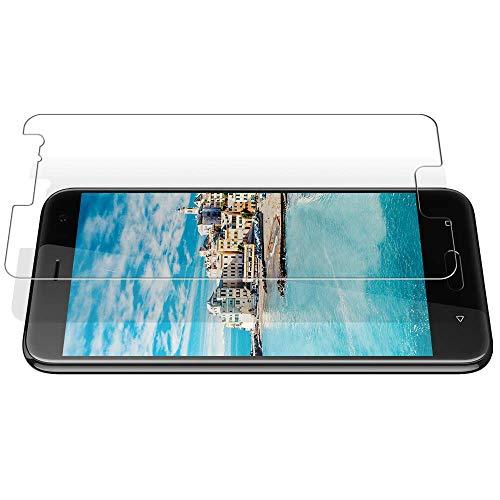 TOCYORIC Verre Trempé pour HTC U11 Film Protection Ecran(2 Pièces)