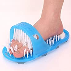 Vmoni Waterproof Easy Foot Cleaner Shower Slipper for All Age Groups (Foot SPA)
