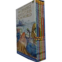 The Greatest Adventures in the World Collection 10 Books Set, (Classic Adventure Series)