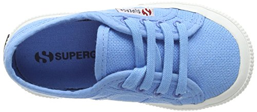 Superga 2750-Jcot Classic Scarpe da Ginnastica, Unisex Bambini Azul (azure blue)