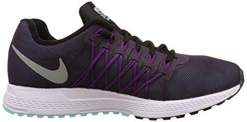 Nike Wmns Air Zoom Pegasus 32 Flash, Scarpe sportive, Donna Nbl Purple/Rflct Slvr-Vvd Prpl