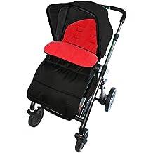 Saco/Cosy Toes Compatible con Chicco carrito, color rojo