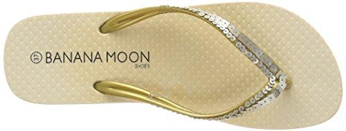 Banana Moon Barossa 2, Tongs femme Beige (Sho08)